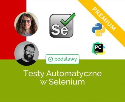 Podstawy Testów Automatycznych w Selenium i Python