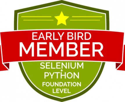 Kursant Podstawy Testów Automatycznych w Selenium i Python (Early Bird)
