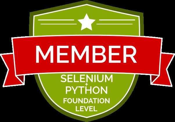 Kursant Podstawy Testów Automatycznych w Selenium i Python