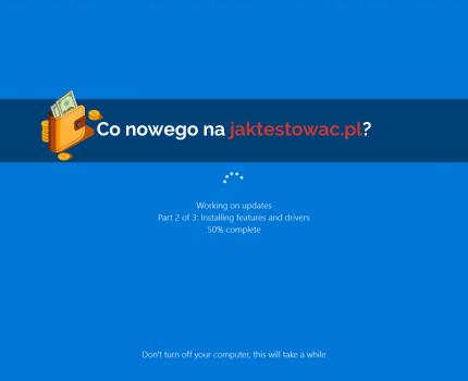 Nowości na jaktestowac.pl #5 – w05/06 (26.01-08.02.2019)