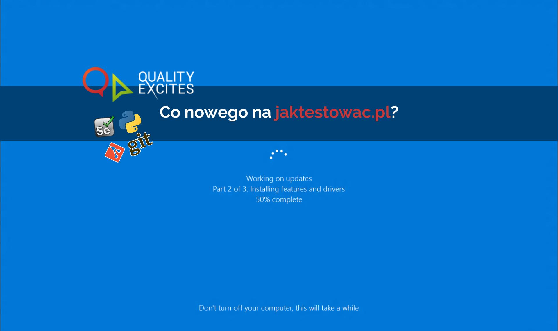 Nowości na jaktestowac.pl #9 – w13/14 (23.03-05.04.2019)