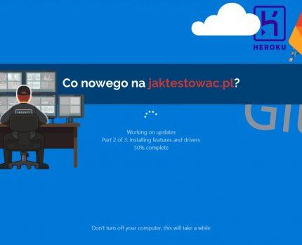 Nowości na jaktestowac.pl #23 – w41/42 (06.10.2019-19.10.2019)