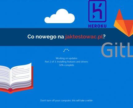 Nowości na jaktestowac.pl #30 – w03/04 (13.01.2020-26.01.2020)