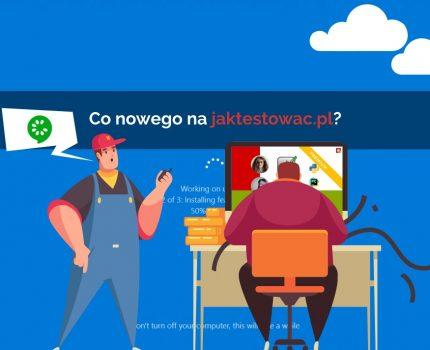 Nowości na jaktestowac.pl #40 – w23/24 (02.06.2020-15.06.2020)