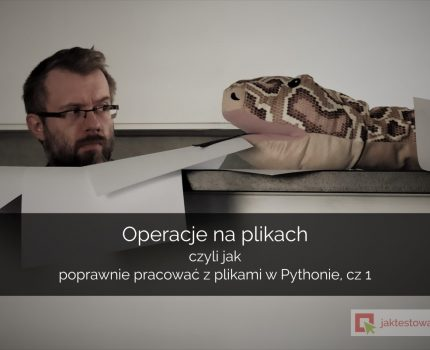 Wstęp do pracy z plikami w Pythonie
