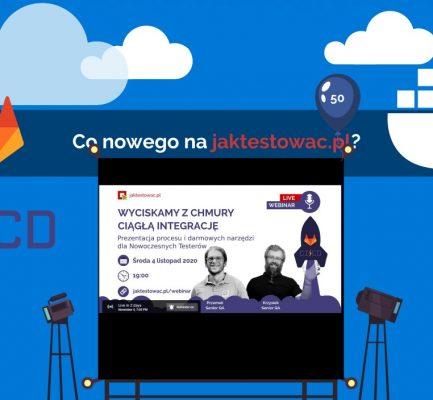 Nowości na jaktestowac.pl #50 – w43/44 (20.10.2020-02.11.2020)
